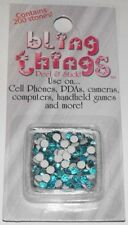 Blue Stones Cell Phone Jewelry BLING THING STICKERS - MAKE YOUR OWN DECAL BBS502