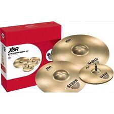"Sabian XSR5005B XSR Performance Cymbal Pack Set 14"" Hats 16 Inch Crash 20 Ride"