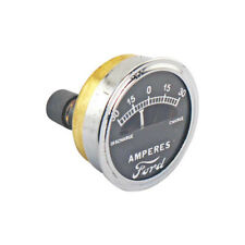 Model A Ford Ammeter - 30-30 - Brass Construction - Chrome Rim - Ford Script -
