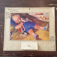 1946 Hegland Produce Company Roland Story City McCallsburg Iowa Calendar