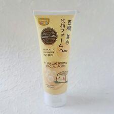 New Tofu Whitening Plus Vitamin C Collagen Soy Bean Facial Foam Face Cleanser