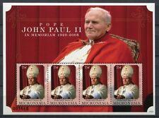 Stati Federati di Micronesia Micronesia 2010 Papa Giovanni Paolo II. Pope John Paul 2080 MNH