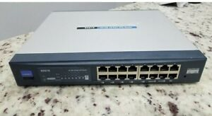 Cisco Linksys RV016 16-Port 10/100 VPN Router Wired Free Shipping