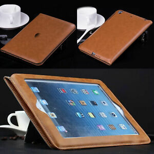 """For iPad 10.2"""" 9th 2021 9.7"""" 6th 5th  Air 2 Mini 1 2 3 Wallet Case Leather Cover"""