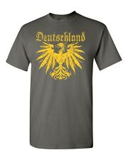 Deutschland German Eagle Germany Golden Eagle Tee Shirt 1855