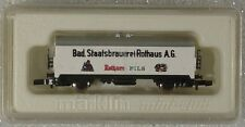 Marklin Mini Club Z Scale 8646 Bad Staatsbruaerei Rothaus Beer Car - Mib