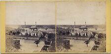 Constantinople Turquie Turkey Vintage stereo Frank Mason Good albumine ca 1865