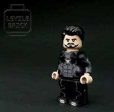 ⎡LEYILE BRICK⎦Custom Concept Tony Stark Lego Minifigure