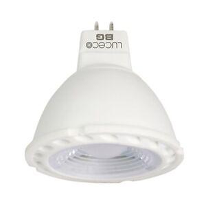 (5 or 10 Pack) Luceco MR16 3.5W/25W Bulb. 260lm LED Bulb Spot Light Warm White