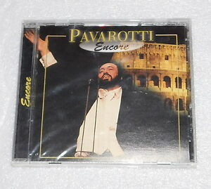 Pavarotti Encore CD 2000 Canada Direct Source Special Products Opera Music