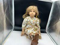 Sigikid Sabine Esche Künstlerpuppe Vinyl Puppe 62 cm. Top Zustand
