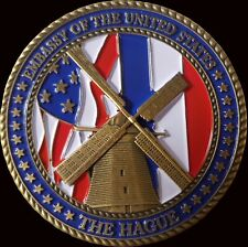 Diplomatic Security Service The Hague Regional Security Challenge Coin 2
