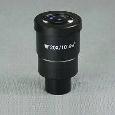 Compound Microscope Eyepiece WF20X /10mm With Reticle Crosshair 30MM Tube