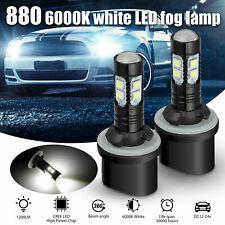 2x 880 890 892 893 899 100w 6000k Xenon White Cree Led Fog Light Driving Bulbs