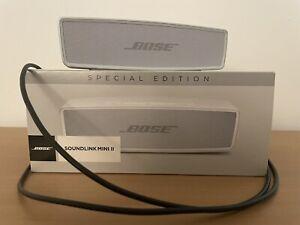 Enceinte Bose Soundlink Mini II - Spécial Edition - Argent