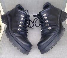Men's Donald J Pliner Black Leather Ankle Boots Size 9 1/2