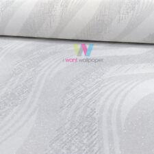 Rollos de papel pintado modernos Erismann color principal blanco