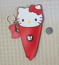 HELLO KITTY COIN PURSE ICE CREAM RED