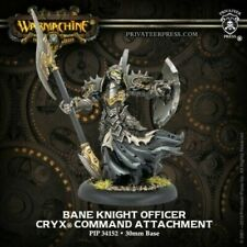 Privateer Press Warmachine MK III Cryx Bane Knight Officer Pack MINT
