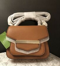 $358 Kate Spade Browning Lane Suna Crossbody Cognac NWT Soft Leather, BROWN