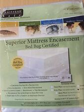 King Size Superior Mattress Encasement Bed Bug Certified Nib Ez-Kg Kleen Cover