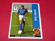 PABLO JOSE MAQUEDA REAL OVIEDO PANINI LIGA 95-96 ESPANA 1995-1996 FOOTBALL