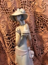 Lladro 5470 Tea Time See Description! No Box! Very Large! Great Gift! Look!