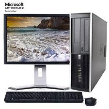 "Fast HP 6005 AMD Desktop Computer Windows 10 PC 2.80GHz 8GB 250GB HD 17"" LCD DVD"