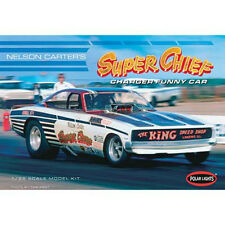 Polar Lights Carter 1970 Super Chief Dodge Charger FUNNY CAR model kit 1/25