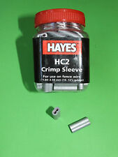 Hc2 Hayes Crimp Sleeves Fencing Wire Joiners