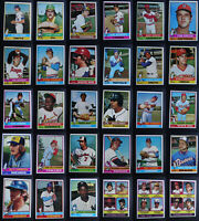 1976 Topps Baseball Cards Complete Your Set U You Pick From List 441-660