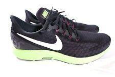 Mens Nike Air Zoom Pegasus 35 Sz 11.5 Black/Burgundy Ash 942851-016 FREE SHIP