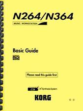 Korg N264 N364 Basic Guide AND Service Manual