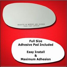 Mirror Glass Replacement + Full Adhesive For Century,Regal,Intrigue Passenger S