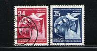 ALEMANIA RDA/EAST GERMANY 1952 USED SC.118/119 Nations for Peace