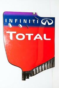 SEBASTIAN VETTEL F1 REAR WING END PLATE RWEP RB10 RED BULL RACING inc COA F1-247