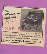 Del acero, publicidad 1936, Sempert & Krieghoff rifle fábrica rifle