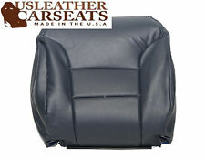 1995-1999 Chevy Silverado Driver Lean Back Leather Seat Cover Blue