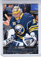LINUS ULLMARK 2015-16 UPPER DECK YOUNG GUNS Rookie RC #472