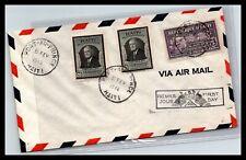 GP GOLDPATH: HAITI COVER 1946 AIR MAIL FIRST DAY COVER _CV778_P03