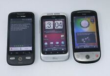 Lot of 3 Working HTC Android Smartphones - Hero / Wildfire S / Droid Eris