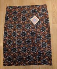 NWT Lularoe Cassie 3XL Black Yellow Multi Color Celtic Style Design Pencil Skirt