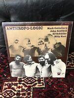 "Sealed JOHN SCOFIELD - MACK GOLDSBURY LP ""ANTHROPO-LOGIC"" MUSE MR 5194, 1979 RVG"