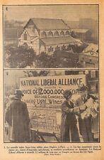 PARIS EGLISE ST LEON / NATIONAL LIBERAL ALLIANCE / ILLUSTRATIONS DIVERSES 1926