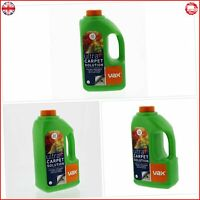 Vax Ultra Plus Carpet Cleaning Solution Clean Carpets Upholstery Rose Scent 1.5L