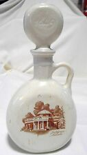 1968 Thomas Jefferson Monticello Old Fitzgerald Flagship Decanter D-379