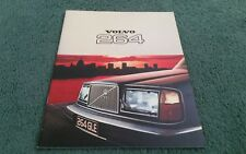 1977 VOLVO 264 260 SALOON DL GLE - UK BROCHURE