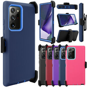 For Samsung Galaxy S20/Note 20 Ultra 5G Case Shockproof Rugged Clip Stand Cover