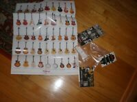 Epiphone Guitar Electronics INSTRUCTIONS MANUAL, POSTER, & TRUSS ROD