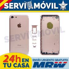 """Carcasa Marco Chasis Para Apple Iphone 7 4.7"""" Oro Rosa Tapa Bateria"""